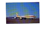 Aeroamerica International 707 Airline Postcard feb0952