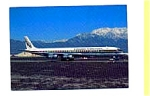 Evergreen International DC-8 Airline Postcard feb1052