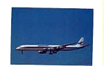 Spantax DC-8 Airline Postcard feb1053