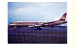 KLM Royal Dutch Airlines DC-8 Postcard feb1057