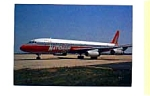 Nationair DC-8 Airline Postcard feb1059