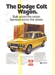 Click here to enlarge image and see more about item feb1756: Dodge Colt Wagon AD