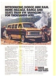 Dodge Mini Ram Wagon AD