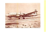 DC-6B Airline Postcard