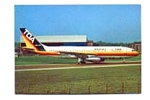 TDA Domestic A300 Airline Postcard feb2352