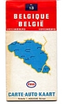 Click here to enlarge image and see more about item feb2555: Esso Belgium Map