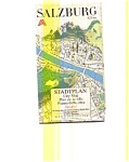 Click here to enlarge image and see more about item feb3052: Salzburg Austria Map feb3052