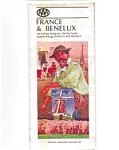 France Benelux Highway Map