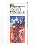 Germany Austria Switzerland Map