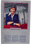 Click here to enlarge image and see more about item feb3206: American Airlines Flight Attendant Ad feb3206