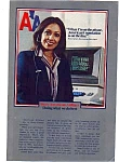 Click here to enlarge image and see more about item feb3207: American Airlines Reservation Clerk Ad feb3207
