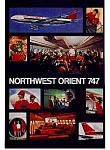 Click here to enlarge image and see more about item feb3211: Northwest 747 Ad feb3211