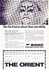 Click here to enlarge image and see more about item feb3274: BOAC Orient  Tour Ad