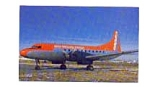 Aspen Airways CV-440  Airline Postcard feb3279