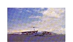 Click here to enlarge image and see more about item feb3283: C-141A Starlifter Postcard