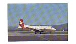 Click here to enlarge image and see more about item feb3285: Air Virginia HS-748  Airline Postcard