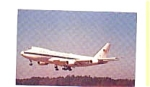 Click here to enlarge image and see more about item feb3299: USAF Boeing E-4A Postcard
