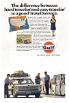 Click here to enlarge image and see more about item gas01: Gulf Oil Co Travel Service Ad