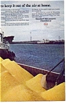 Click here to enlarge image and see more about item gas03: Esso Sulfur Free Oil Ad gas03
