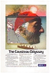 Click here to enlarge image and see more about item gas05: ARCO Cousteau Odyssey Ad gas05