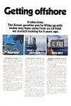 Click here to enlarge image and see more about item gas07: Exxon Platform Construction Ad gas07