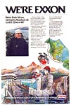 Click here to enlarge image and see more about item gas11: Exxon Alaskan Oil Ad