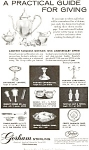 Click here to enlarge image and see more about item jan0380: Gorham Silver 125th Anniversary Ad