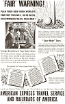 American Express World s Fair  Ad jan0382 1939