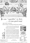 Campbell's Vegetable Soup Ad 1931