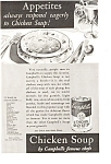 Click here to enlarge image and see more about item jan0482: Campbell's Chicken Soup Ad 1932