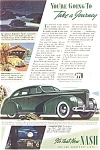 1939 Nash Automobile Ad