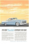 Click here to enlarge image and see more about item jan0578: 1956 Chrysler Windsor Power Style Ad jan0578