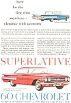 1960 Chevrolet Impala Sports Coupe  Ad