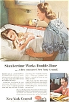 Click here to enlarge image and see more about item jan0581: New York Central  Ad Slumbertime