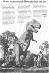 Sinclair Oil T-Rex World's Fair Ad