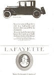 Click here to enlarge image and see more about item jan0974: 1921 Lafayette Coupe Automobile Ad