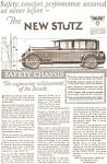 Click here to enlarge image and see more about item jan0976: 1926 Stutz Automobile Ad