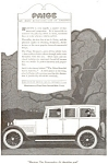 Click here to enlarge image and see more about item jan0978: 1920 Paige Automobile Ad