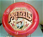 Click here to enlarge image and see more about item jan1071: Haque's Pretzel Ashtray