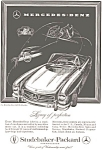 Click here to enlarge image and see more about item jan1172: 1958 Mercedes 300 SL Roadster Ad jan1172