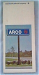 ARCO map of Wisconsin, 1972