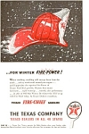 Texaco Winter Fire Power Ad