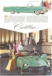 Click here to enlarge image and see more about item jan1281: 1956 Cadillac Advertisement