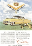 Click here to enlarge image and see more about item jan1284: 1952 Cadillac Advertisement jan1284