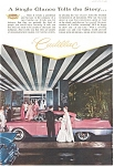 Click here to enlarge image and see more about item jan1289: 1957 Cadillac Four Door Hardtop Ad