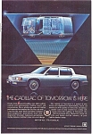 1984 Cadillac Sedan  Ad jan1480