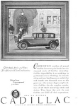 Click here to enlarge image and see more about item jan1486: 1927 Cadillac Ad jan1486