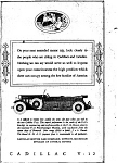 Click here to enlarge image and see more about item jan1489: 1931 Cadillac V-12 Phaeton Ad