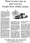 Click here to enlarge image and see more about item jan1497: Cadillac La Salle Used Car Ad 1930 jan1497
