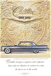 Click here to enlarge image and see more about item jan1498: 1961 Cadillac Hardtop Ad With Jewels